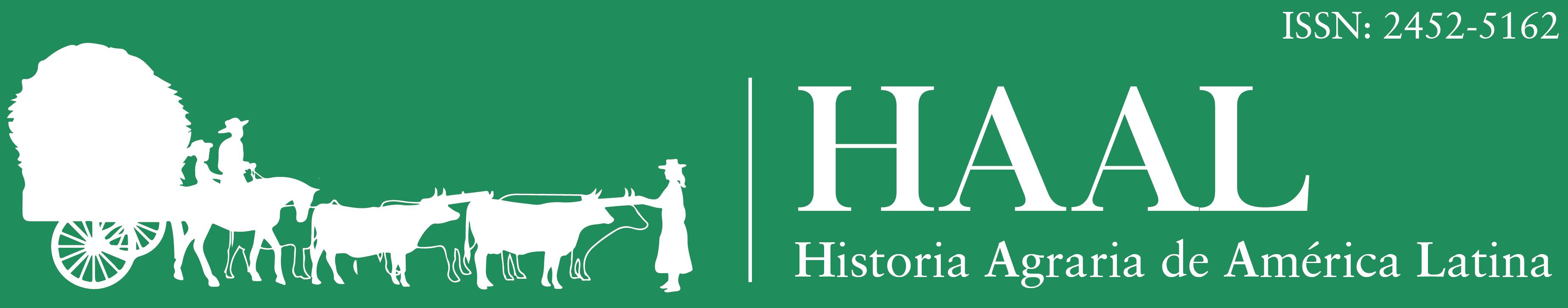 Revista Historia Agraria de América Latina